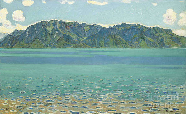 Wall Art - Painting - Grammont, 1905  by Ferdinand Hodler