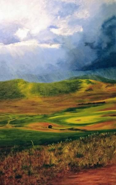 Painting - Gran Sasso Calm by Lorraine Germaine