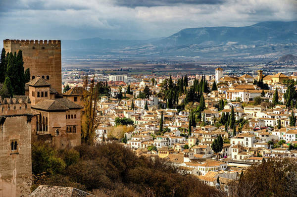 Photograph - Granada And La Alhambra by Pablo Lopez
