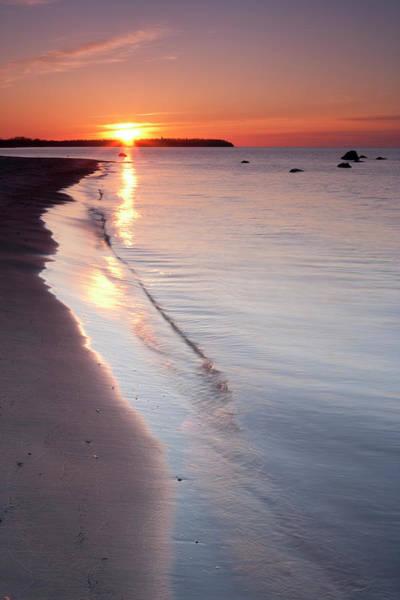 Lakeshore Photograph - Grand Beach Manitoba by Mysticenergy