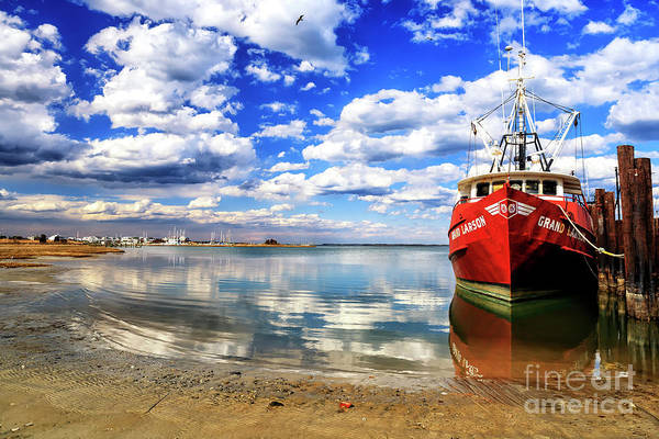 Photograph - Grand Boat At Long Beach Island by John Rizzuto
