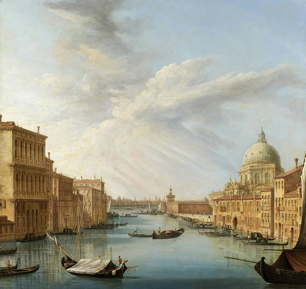 Wall Art - Painting - Grand Canal by Pietro Bellotti