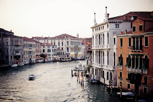 Motorboat Photograph - Grand Canal by Stuart Westmorland