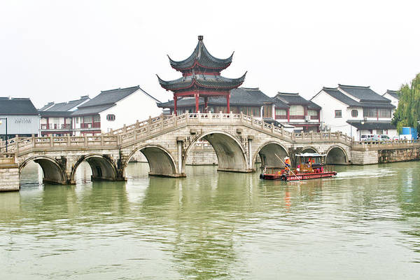 Photograph - Grand Canal Suzhou by Nick Mares
