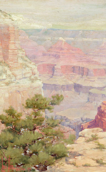 Wind River Range Wall Art - Painting - Grand Canyon, 1904 by Louis Akin