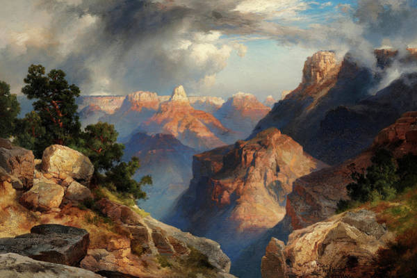 Wall Art - Painting - Grand Canyon, 1912 by Thomas Moran