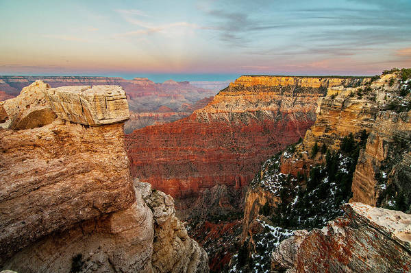 Photograph - Grand Canyon Evening  by Matthew Irvin