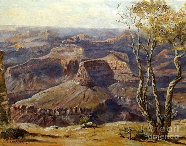 Wall Art - Painting - Grand Canyon by Lee Piper