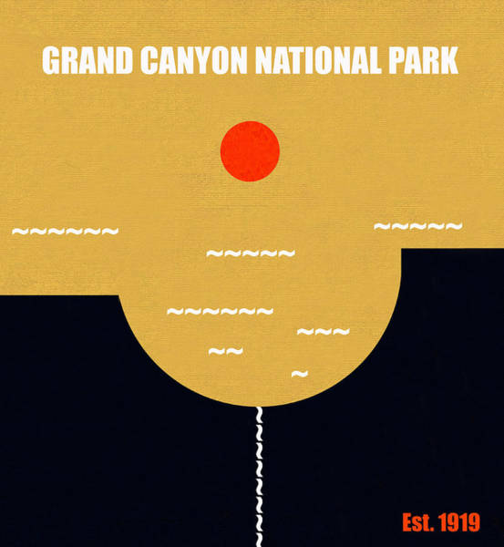 Wall Art - Mixed Media - Grand Canyon N. P. M Series by David Lee Thompson