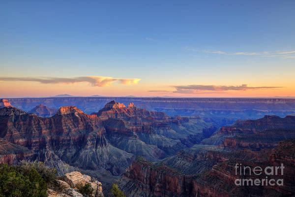 Beautiful Sunrise Photograph - Grand Canyon National Park At Sunset by Jameschen