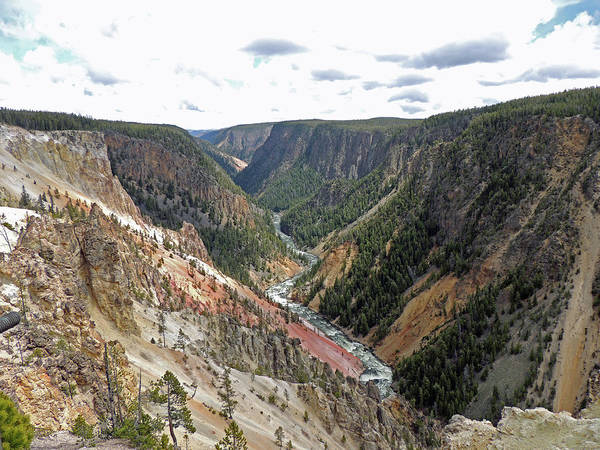 Photograph - Grand Canyon Of The Yellowstone River by Jayne Wilson