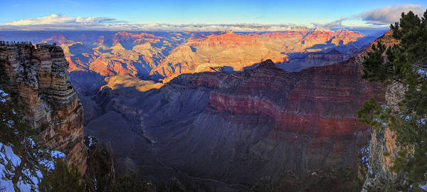 Photograph - Grand Canyon Panorama by Chance Kafka