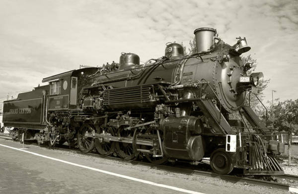 Photograph - Grand Canyon Railway by Dawn Richards