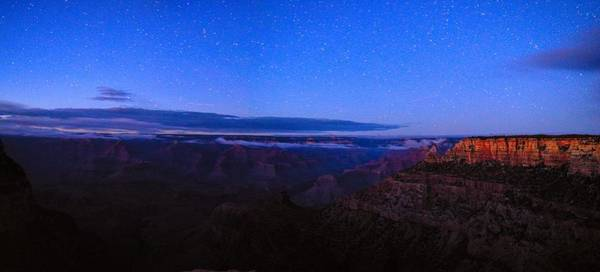 Photograph - Grand Canyon Stars Panorama by Chance Kafka