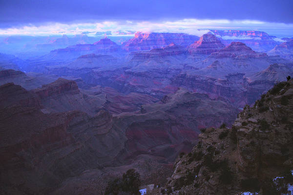 Photograph - Grand Canyon Twilight by Chance Kafka