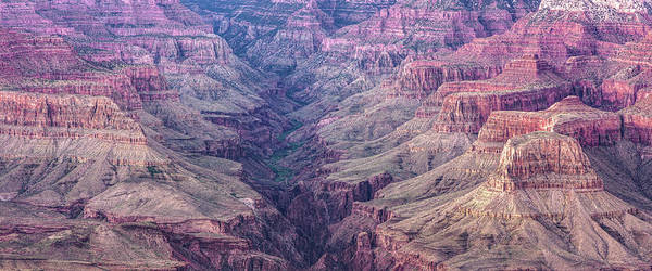 Photograph - Grand Canyon Valley Panoramic Landscape - Arizona by Gregory Ballos