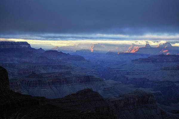 Photograph - Grand Canyon Winter Ambiance  by Chance Kafka