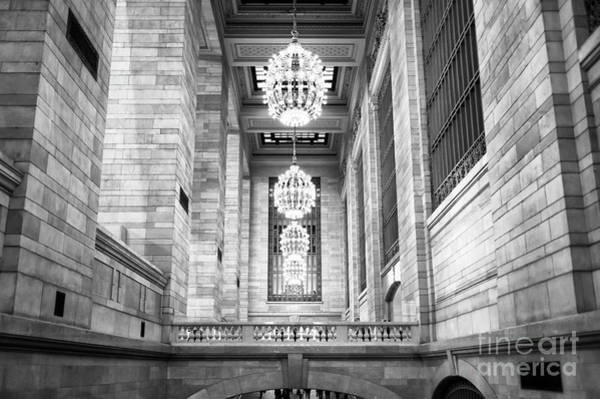 Grand Central Terminal Wall Art - Photograph - Grand Chandeliers At Grand Central Terminal New York City by John Rizzuto