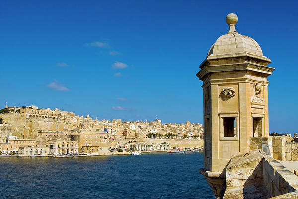 Photograph - Grand Harbour, Valletta, Malta by Nico Tondini
