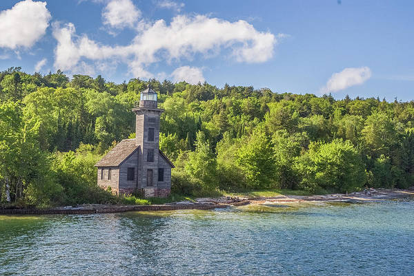 Photograph - Grand Island East Channel Lighthouse by Matthew Irvin