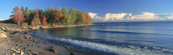 Lake Superior Photograph - Grand Islands National Recreation Area by Visionsofamerica/joe Sohm