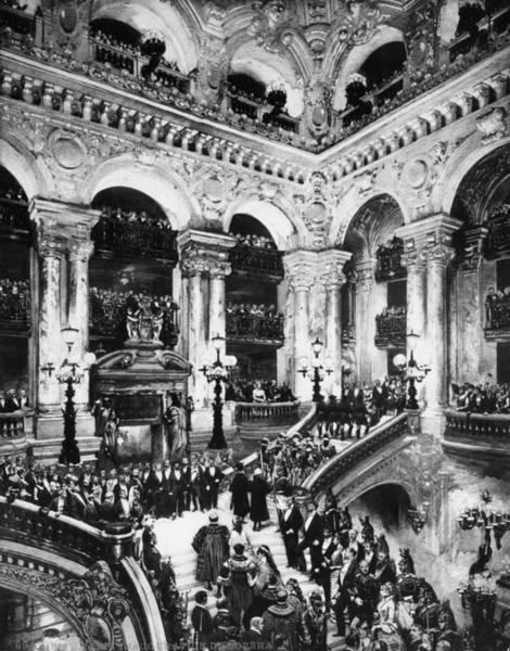 Alabaster Photograph - Grand Opera by Henry Guttmann Collection