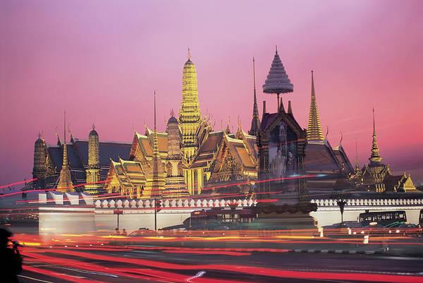 Thai Photograph - Grand Palace, Bangkok, Thailand by Peter Adams