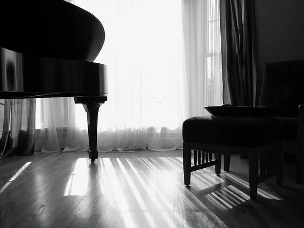 Piano Photograph - Grand Piano by Wildcatmad