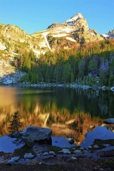 Photograph - Grand Reflections At Surprise Lake by Greg Norrell