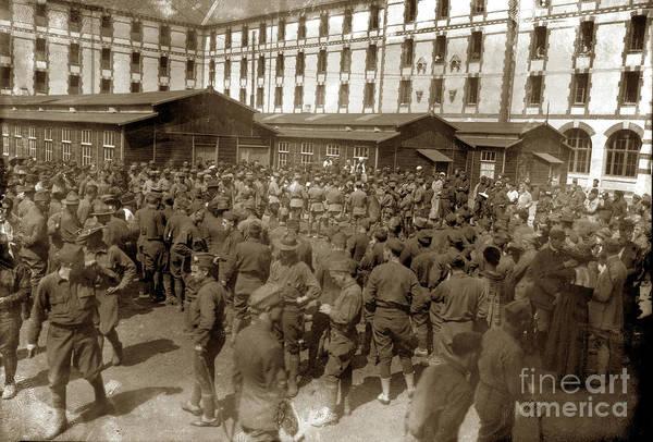 Photograph - Grand Seminairebase Hospital 34, U. S. A., Nantes, France  Fran by California Views Archives Mr Pat Hathaway Archives