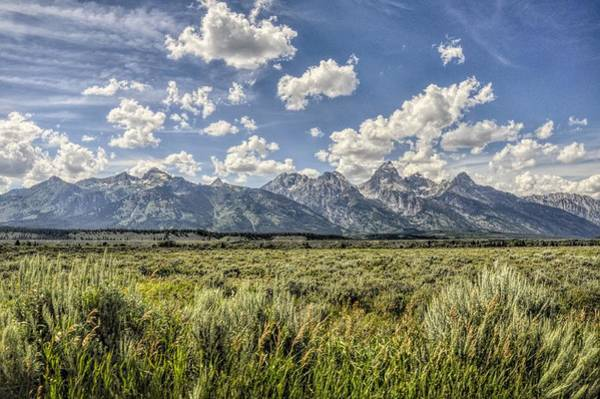 Photograph - Grand Teton And Wyoming Skies by Chance Kafka