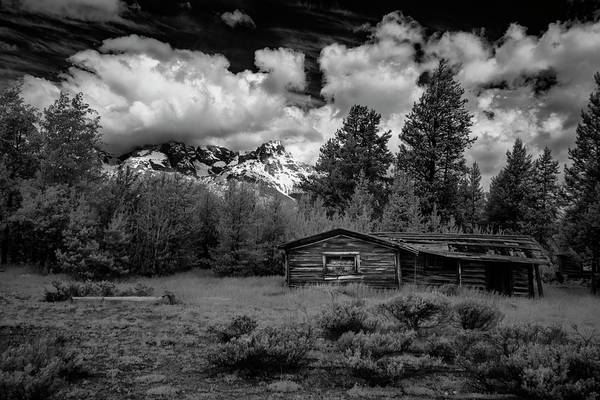 Photograph - Grand Teton Cabin II by Jon Glaser