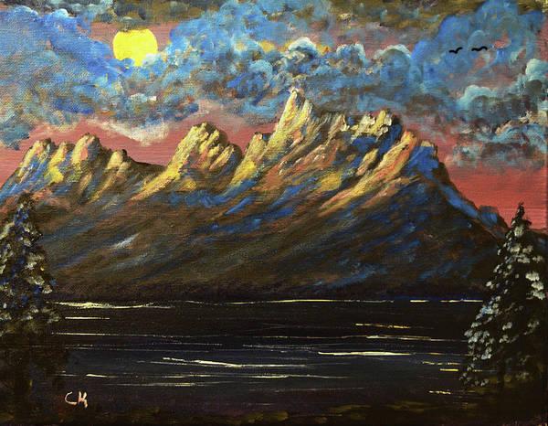 Painting - Grand Teton Dawn by Chance Kafka