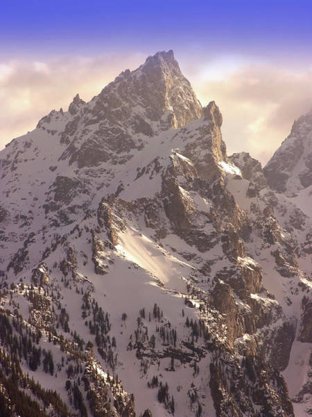 Wall Art - Photograph - Grand Teton by Images Etc Ltd