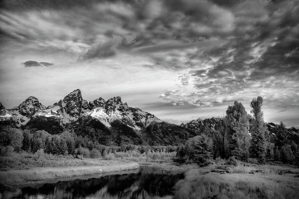 Photograph - Grand Teton Mountain II by Jon Glaser