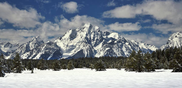 Photograph - Grand Teton Peak In Winter by TL Mair