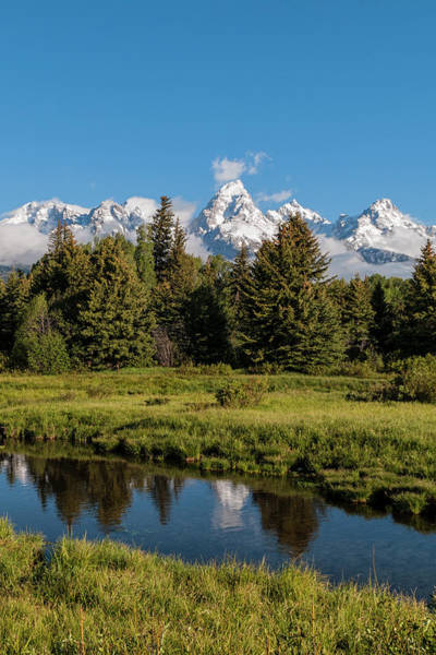Wall Art - Photograph - Grand Teton Reflection - Grand Teton National Park Wyoming by Brian Harig