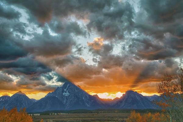 Wall Art - Photograph - Grand Teton Sunset by Mitch Cat