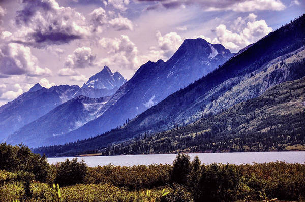 Photograph - Grand Tetons And Lake by Chance Kafka