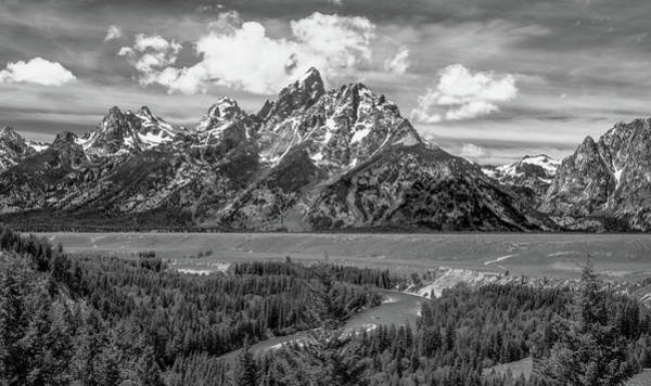Wall Art - Photograph - Remembering Ansel Adams, Black And White by Marcy Wielfaert