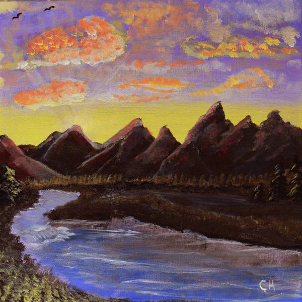 Painting - Grand Tetons And Snake River by Chance Kafka