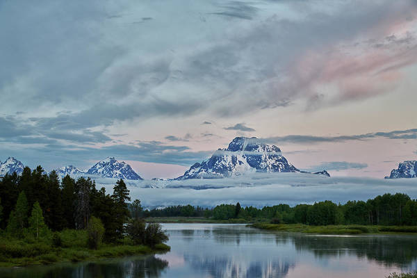Photograph - Grand Tetons Morning by Jon Glaser