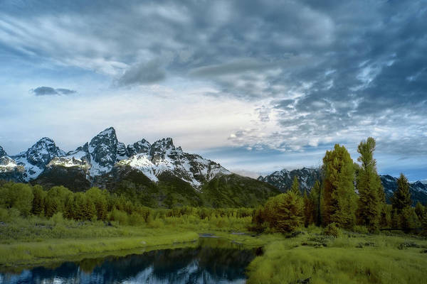 Photograph - Grand Tetons Mountain by Jon Glaser