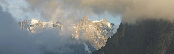 Photograph - Grandes Jorasses Panorama by Stephen Taylor