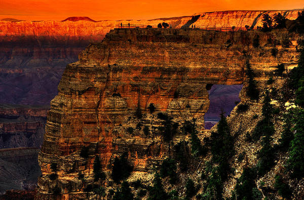 North Rim Photograph - Grandest Canyon by Courtesy Earth - I'm A Just A Messenger
