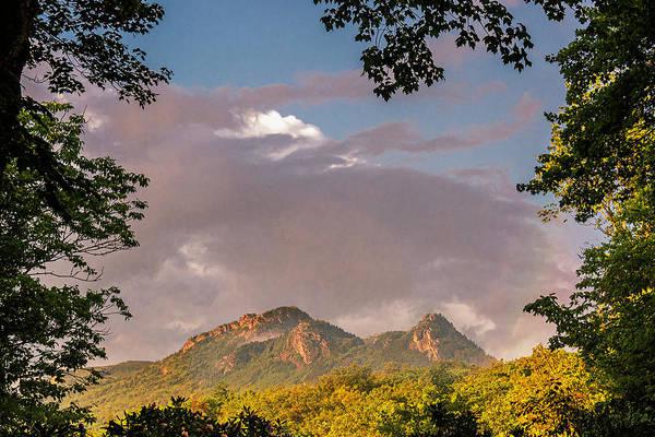 Photograph - Grandfather Mountain Framed by Ken Barrett