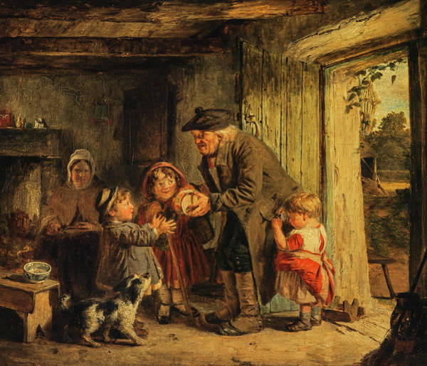 Wall Art - Painting - Grandfather's Return by John Burr