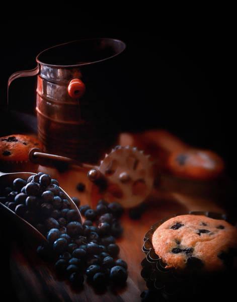 Wall Art - Photograph - Grandma's Blueberry Muffins by Marnie Patchett
