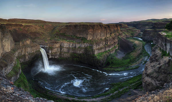 Photograph - Grandure Of Palouse Falls by Mark Kiver