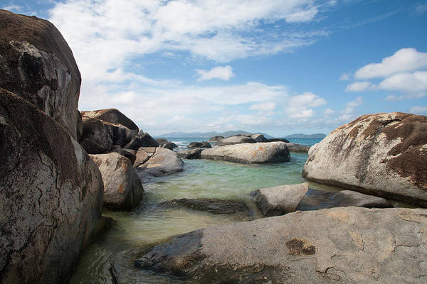 British Virgin Islands Photograph - Granite Boulders At The Baths National by Driendl Group
